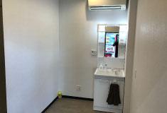 綺麗な更衣室