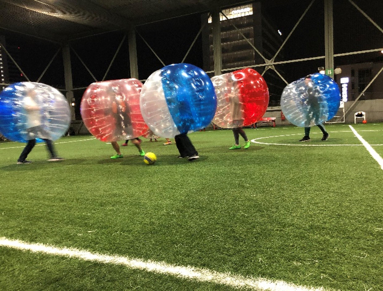 バブルサッカー